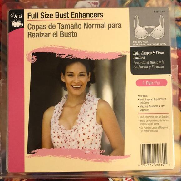 B//C Cup Dritz 53074-BC Full Size Bust Enhancers